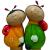 GKS53-05 GREEN APPLE Ороситель декоративный  Божья Коровка 6*6*15.5 (12/144/1152)