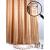 White Fox Набор штора и крючки для ванной, Квадрат 180*200см (6/90)