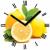 """Innova Часы W09666 """"Лимоны"""", квадратные, стекло, размер 30*30 см (10/120)"""