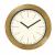 Innova Часы W09651, материал древесина, диаметр 29 см, цвет золото (12/144)