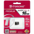 Transcend Micro SDHC 16 Gb Class 10 U1 Premium UHS-I, до 60Мб/с, 400x, без адаптера (25/2500)