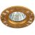 KL33 AL/GD Светильник ЭРА алюминиевый MR16,12V/220V, 50W золото/хром (10/50/2400)