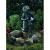 GWXF01185 GREEN APPLE Фонтан садовый Девочка с рыбкой 64см (4)