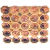 "DK35 GD/PK Светильник ЭРА декор ""соты"" MR16,12V/220V, 50W,  золото/розовый (30/600)"