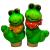 GKS122-02 GREEN APPLE Ороситель декоративный  Гусеница 5*4*14.5 (12/144/1152)