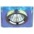 DK8 CH/PR Светильник ЭРА декор стекло квадрат MR16,12V/220V, 50W, хром/перламутр (50/2100)