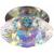 """DK12 CH/MIX Светильник ЭРА декор """"хрустальный плафон"""" G9,220V, 40W, хром/перламутр (30) (50/600)"""