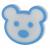 ЭРА ночник NN-625-LS-BU синий (12/48/288)