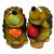 GKS53-06 GREEN APPLE Ороситель декоративный Ежик  6*6*15.5 (12/144/1152)