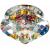 """DK25 CH/MIX Светильник ЭРА декор хрустальный """"пирамидальный"""" G9,220V, 40W, хром/перламутр (30/1080)"""